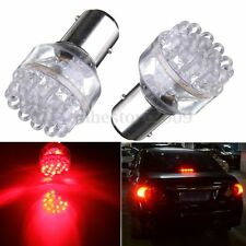 2x 1157 BAY15D 24 LED RED 380 P21/ 5W Car Tail Stop Brake Lights Bulbs Lamps 12V