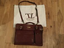Tuscany Leather Venezia Briefcase-Satchel-Holdall-Shoulder Bag + Shoulder Strap