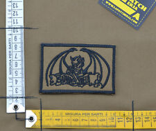 "Ricamata / Embroidered Patch Italian SF ""Satanas Bieli"" with VELCRO® brand hook"