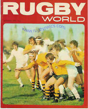 RUGBY WORLD MAGAZINE JANUARY 1974 - PERFECT GIFT FOR A FAN BORN IN THIS MONTH