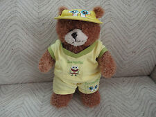 Spongebob Squarepants Teddy Bear Authentic Licensed Complete Outfit 13 inch 2006