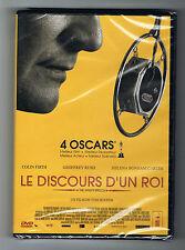 LE DISCOURS D'UN ROI - TOM HOOPER - COLIN FIRTH & GEOFFREY RUSH - DVD NEUF NEW