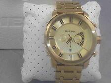 Diesel Men's Gold Stainless Steel STRONGHOLD Chronogragh Watch DZ4376 $260