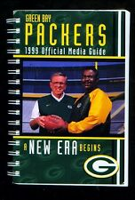 1999 Green Bay Packers NFL football media guide