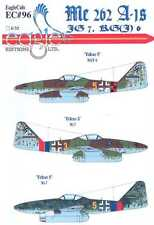 EagleCals Decals 1/32 MESSERSCHMITT Me-262A-1 JG7 & RG(J)6