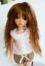 Monique J Rock Wig 6/7 for Little Fee Lati Dollzone Iplehouse YoSD Leeke Auburn