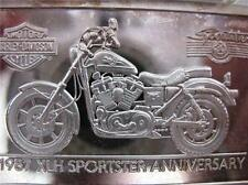 1.4-OZ.999 PURE SILVER 1987 SPORTSTER HARLEY DAVIDSON 90TH ANNIVERSARY BAR INGOI