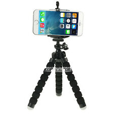 Black Octopus Mini Tripod Stand Grip Holder Mount Mobile Phones Cameras phone