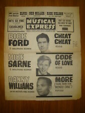 NME #849 1963 APR 19 BICK FORD MIKE SARNE DANNY ELVIS