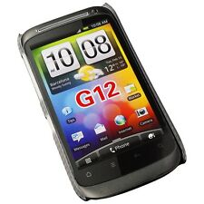 Crystal Case Pocket Protector Cover black For HTC Desire S