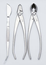 3 PCS Master Grade Bonsai tool Set Branch Cutter / Jin Pliers / Bonsai Tweezers