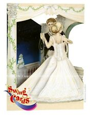 Deluxe 3D Wedding Card Wedding Day First Dance Swing Pop Up Greeting Card
