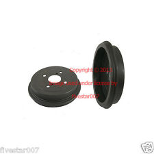 Left and Right Side 2 nEw Rear Drums Back Brake Drum Set Pair for Toyota Echo
