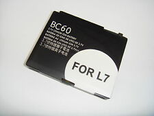 COMPATIBLE BC-60 BATTERY FOR MOTOROLA L2 L6 L7 RAZR V3x