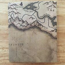 Elder Scrolls V Skyrim Playstation 3 PS3 Deluxe Fold-Out Map Poster 5