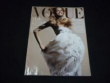 2005 MAY VOGUE PARIS MAGAZINE IN FRENCH - JULIA STEGNER - MODELS - D 1403