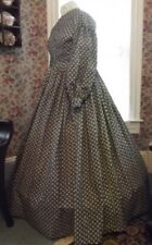 Victorian Attire Civil War 1pc Dress Your Color/Size Repro Costume U buy fabric