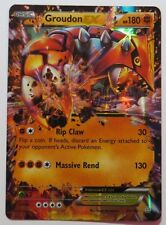 Groudon ex - 85/160 XY Primal Clash - Ultra Rare Pokemon Card
