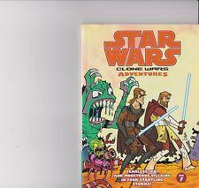 STARWARS CLONE WARS ADVENTURES VOLUME 7 BOOK GRAPHIC NOVEL