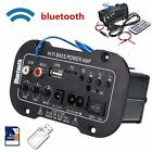 Universal Bluetooth Car Stereo Audio Digital Amplifier MP3 USB TF Remote Control