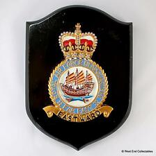 Heavy Aluminium RAF Far East HQ -Military Badge Plaque Shield- Royal Air Force