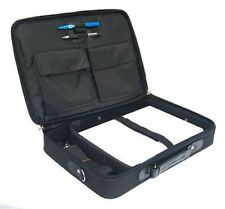 "Laptop Bag Briefcase Notebook Case MacBook Case Up To 17"" Carry Shoulder Black"