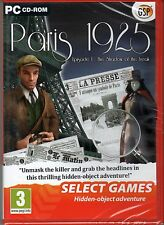 PARIS 1925 Episode 1: THE SHADOW OF THE FREAK Hidden Object PC Game CD-ROM NEW