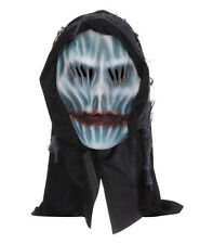 HOODED #GRIM REAPER SCARY GHOST OVERHEAD HORROR MASK HALLOWEEN FANCY DRESS