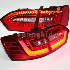 2011 to 2014 Year For VW Jetta MK6 LED Tail Lights LED Strip Rear Lamps Red