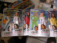 VINTAGE SET OF 4 CHARLIES ANGELS DOLLS NIB MIB HASBRO 1977 TV SHOW +BONUS