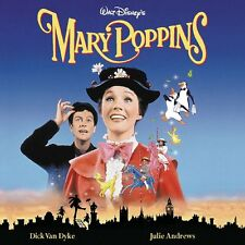 MARY POPPINS ( NEW SEALED CD ) WALT DISNEY ORIGINAL REMASTERED FILM SOUNDTRACK