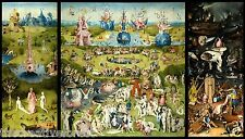 GARDEN OF EARTHLY DELIGHTS, 1503 Hieronymus Bosch CANVAS PRINT 24x40 in.