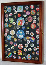 Display Case Shadow Box for Hard Rock Guitar Pins and Lapel Pins, NEW : PC01-WAL