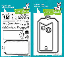 Lawn Fawn Stamps – Birthday Tags and Die Set