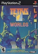 TETRIS WORLDS PLAY STATION 2 GAME