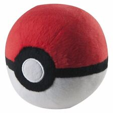 "1x Official TOMY 4"" Poke Ball Pokemon Go Plus X & Y Pokeball Stuffed Plush Doll"