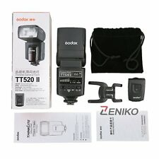 Godox Flash Speedlite TT520II GN33 +  433MHz Transmitter for Canon 60D 7D 5D