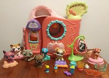 Littlest Pet Shop Get Better Center Lot with 8 Pets and Accessories
