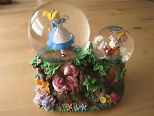 Disney Enesco Alice in Wonderland Musical Snow Globe Waltz of the Flowers VGUC