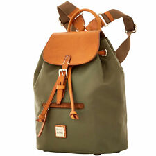 Dooney & Bourke Windham Allie Backpack - BWIND0251 - Olive/Natural