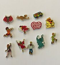 12 SCOOBY DOO FLOATING LOCKET CHARMS MIX LOT VAMPIRE MONSTERS VAN