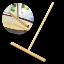 Home Kitchen Crepe Maker Pancake Batter Wooden Spreader Stick Tool Supplies