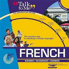AURALOG Talk To Me FRENCH Language Course - Brand New