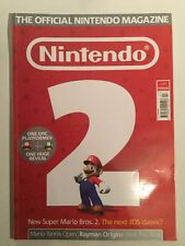 Nintendo Official Magazine Issue 83 July 2012 Wii U Mario Pokemon Celebration