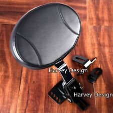 Plug-In Driver Backrest Kit for Harley Touring Road King Model 98-16 FLHR