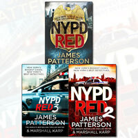 James Patterson NYPD Red Collection 3 Books Set NEW Marshall karp Pack [PB]