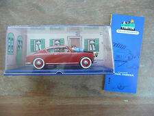 Lancia Aurelia Tintin L'affaire Tournesol Figurine voiture Automobile 1/43