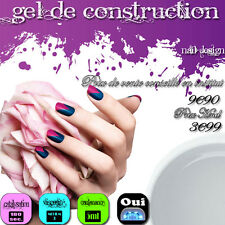 GEL UV 5ML NDED - DE CONSTRUCTION - CLAIR - PAS CHER - MANUCURE - FAUX ONGLES