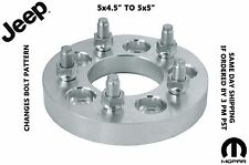 "1-5x4.5"" TO 5x5 OLDER JEEP BOLT PATTERN 5x4.5 TO NEW JEEP BOLT PATTERN 5X5 1.25"""