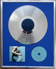 "Placebo Sleeping with gerahmte CD Cover +12"" Vinyl goldene/platin Schallplatte"
